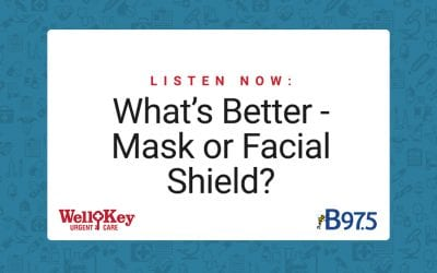 Listen Now: What's Better – Mask or Facial Shield?
