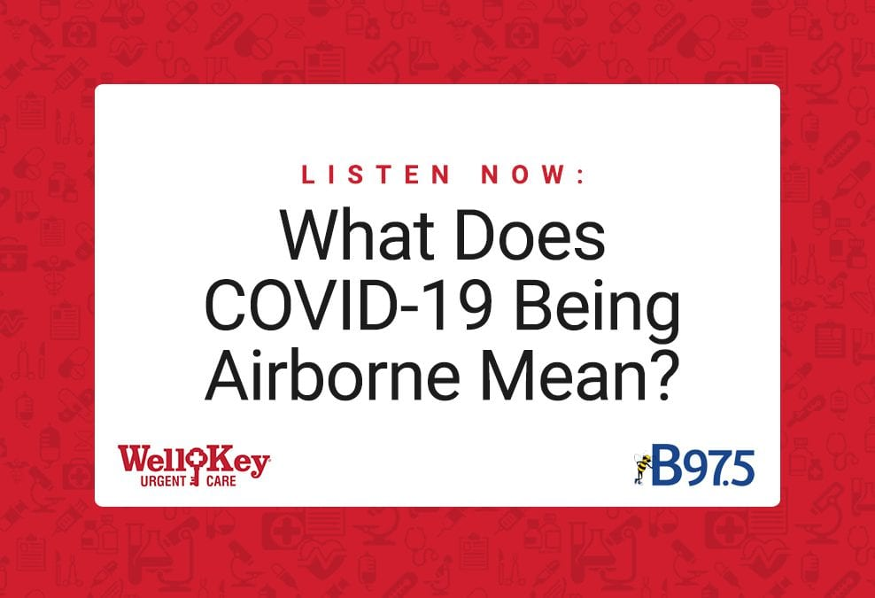 Listen Now: What Does COVID-19 Being Airborne Mean?