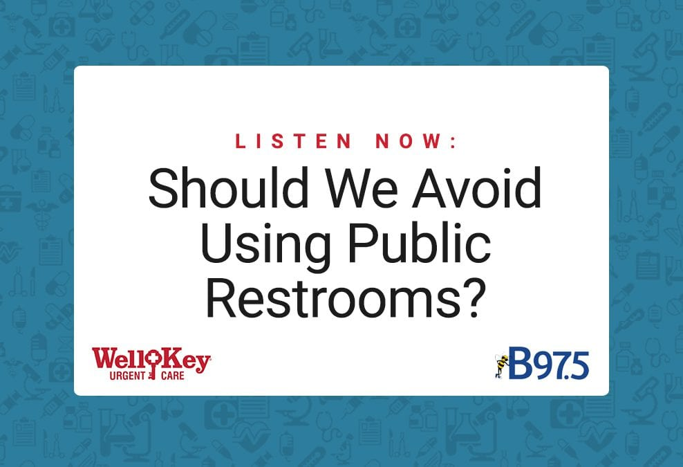 Listen Now: Should We Avoid Public Restrooms?
